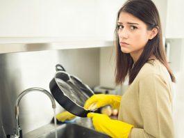 dibi tutan tencere nasıl temizlenir