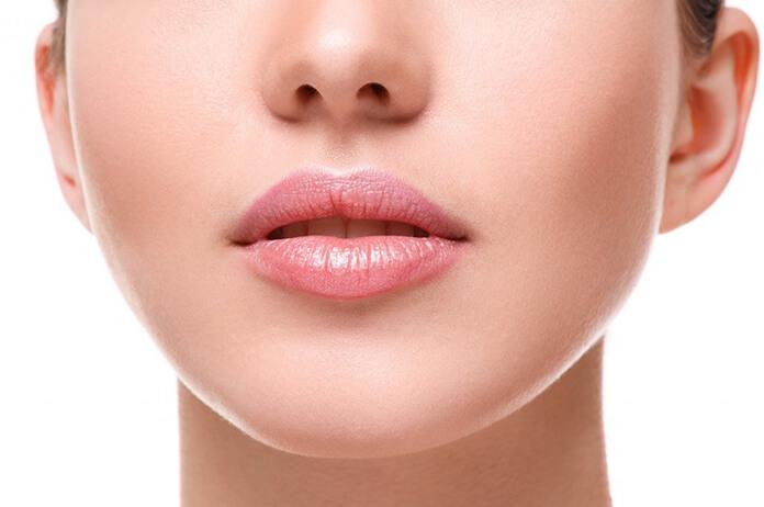 dudak kontürü sonrası