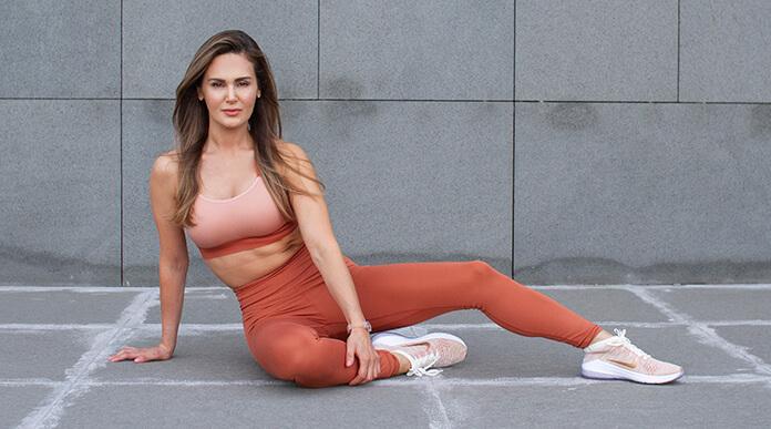 fitness eğitmeni burçin alçın