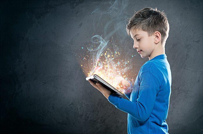 çocuklar teknoloji