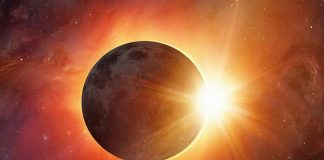ikizler burcu halkalı ay tutulması