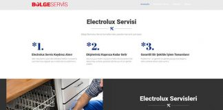 electrolux servis hizmeti