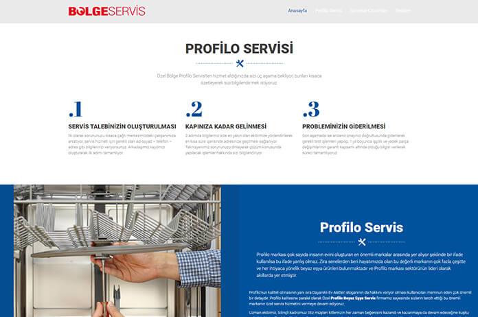 profilo teknik servisi