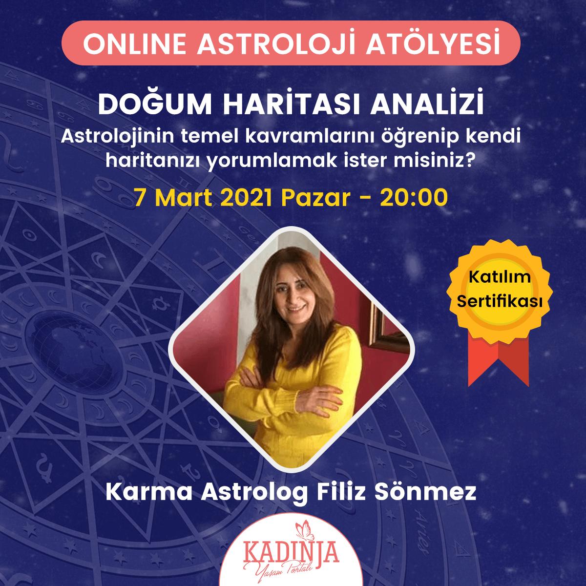 online astroloji atölyesi