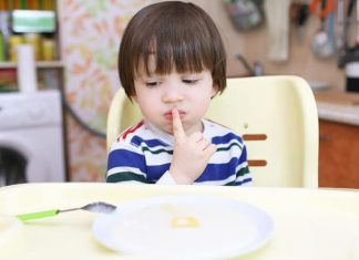 çocuğum yemiyor
